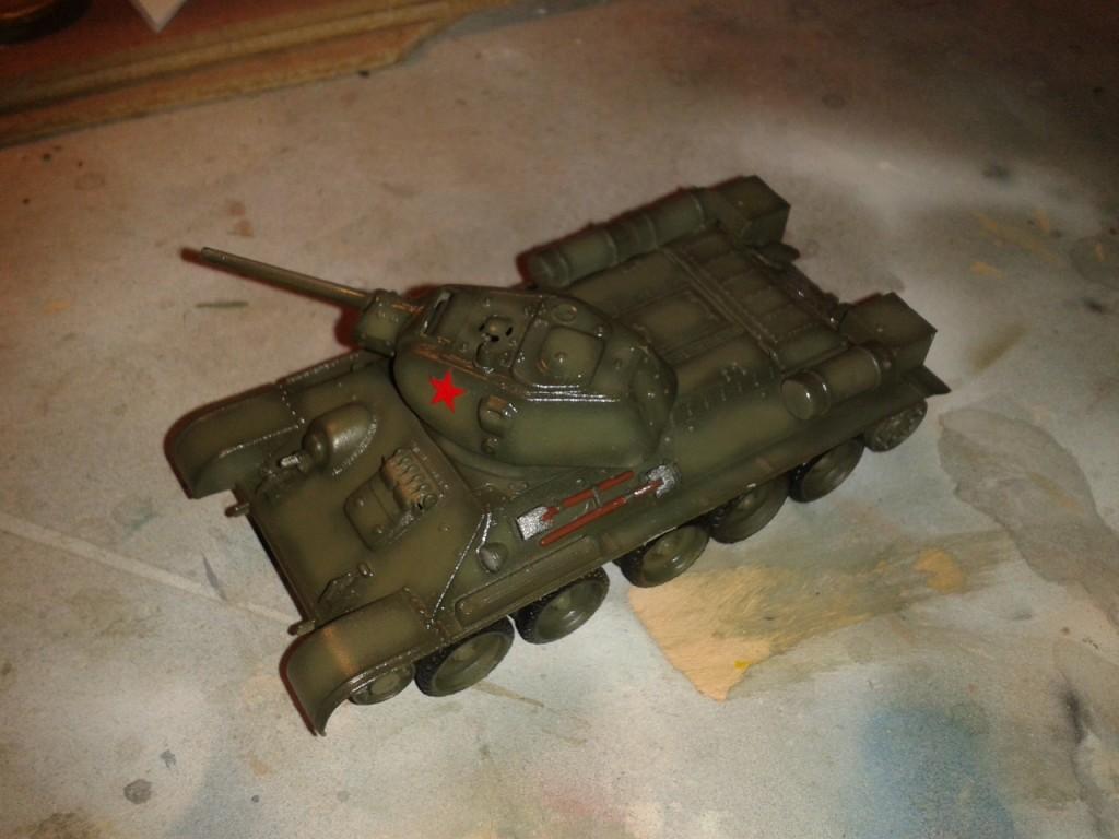 Capa barniz T34/76
