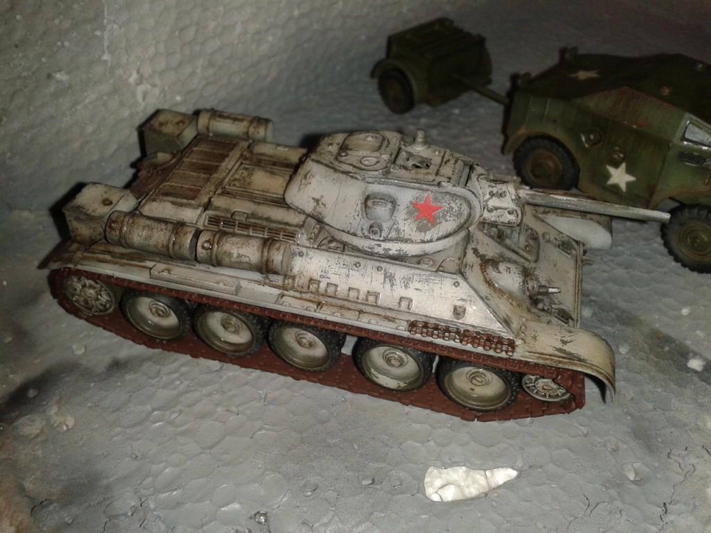 T34/76 oleos