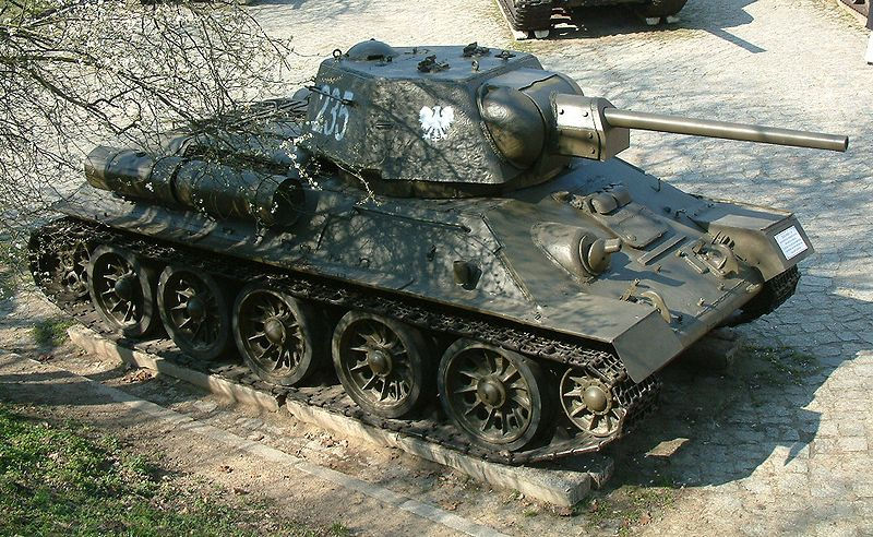 the T34 76 Russian