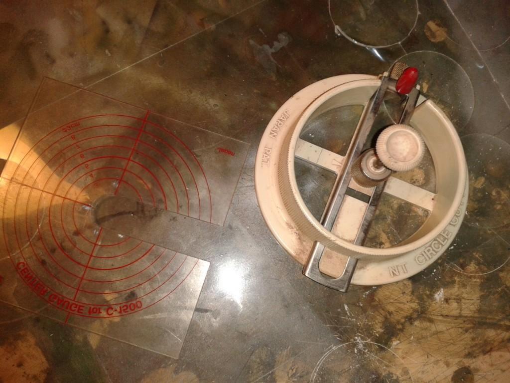 Herramienta de corte circular