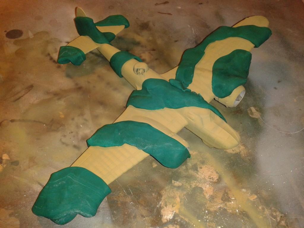Esquema del camuflaje Bristol Blenheim