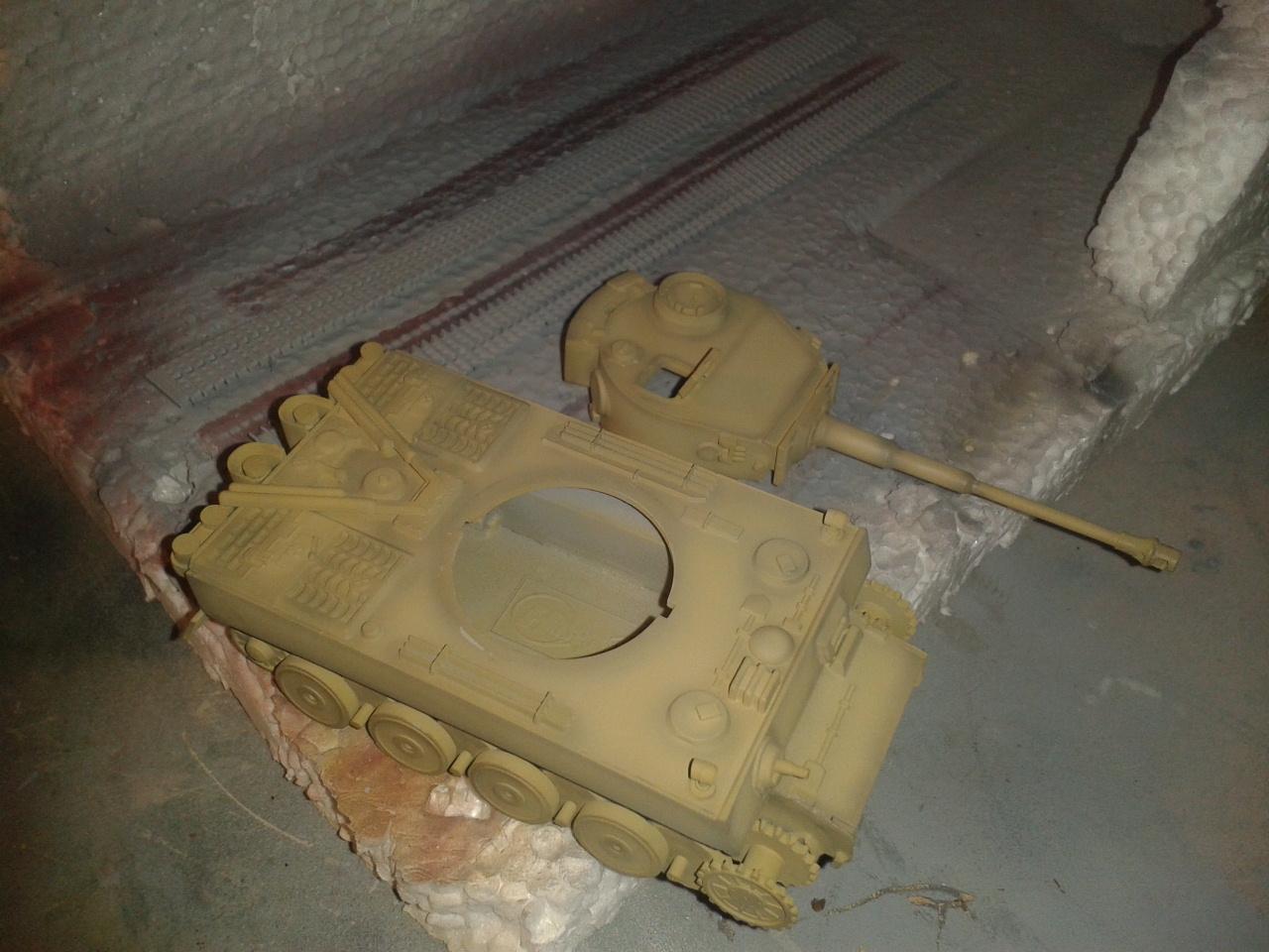 Pintura del Tiger I