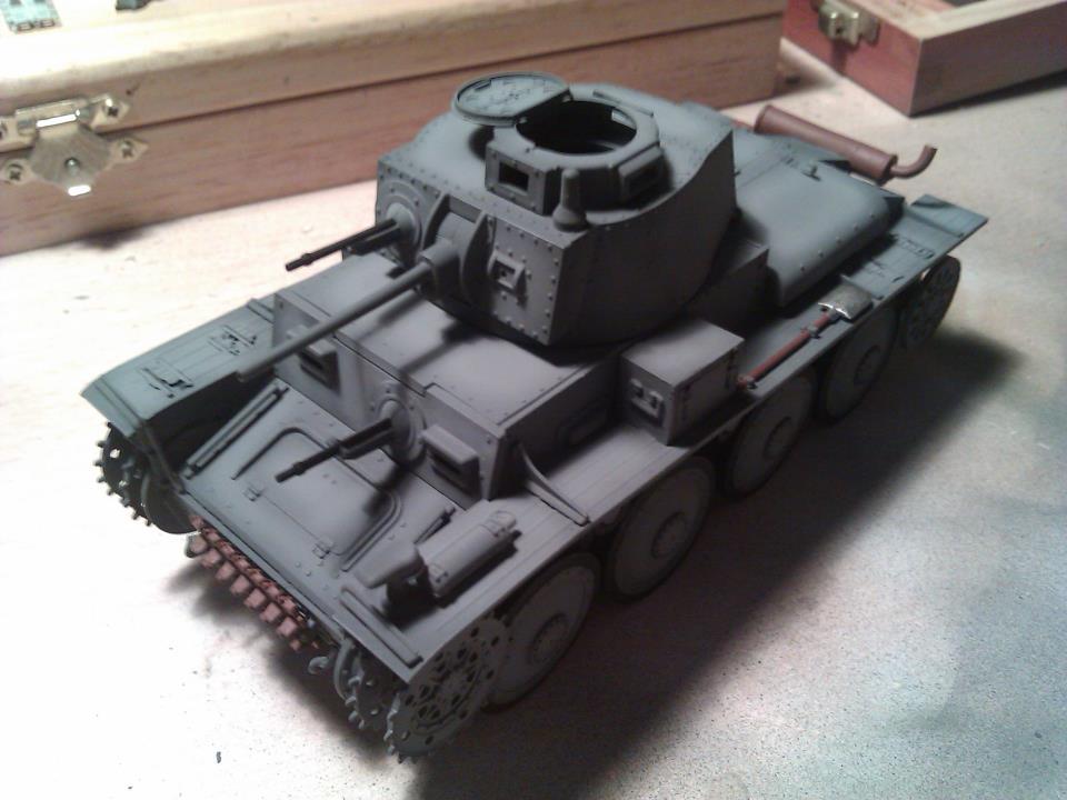 Pintura herramientas Panzer 38(t)