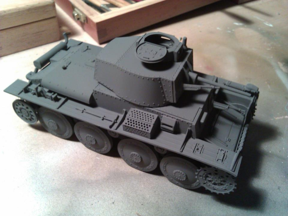 color base gris panzer pzkpfw 38(t)