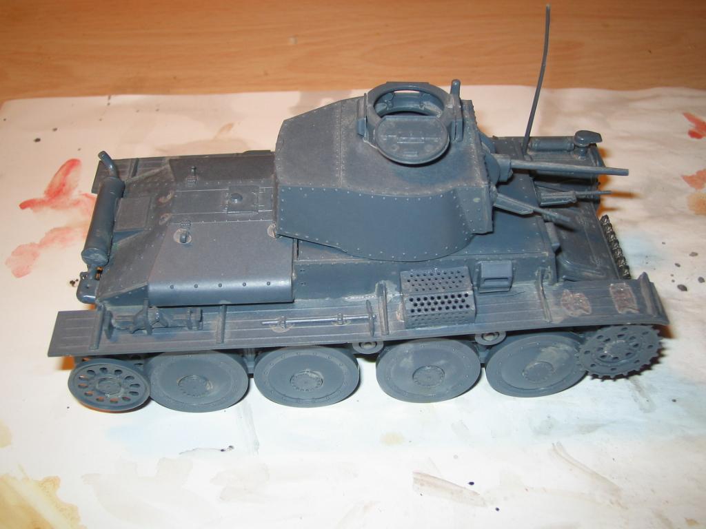 montaje pzkpfw 38(t)