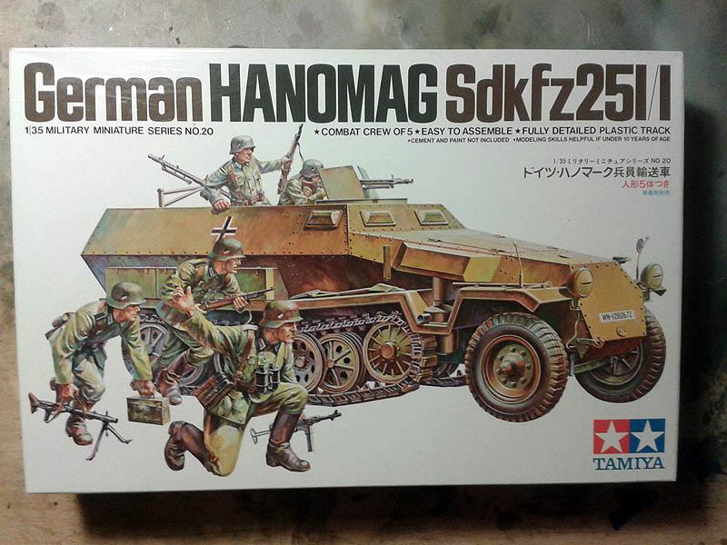 Hanomag sd.kfz 251/1 tamiya 1:35