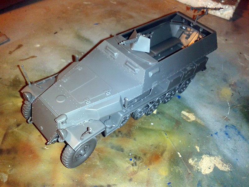 sdkfz assembly 251