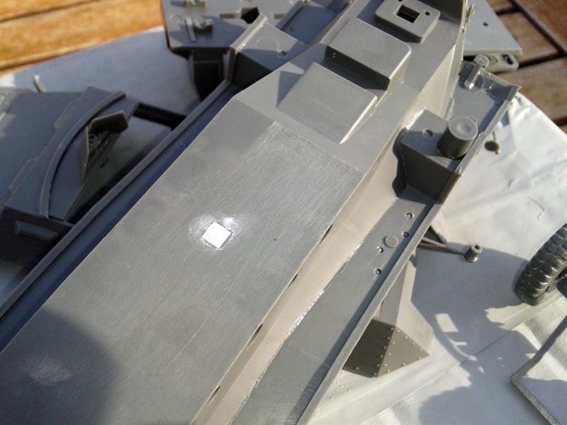 Hanomag sanding sdkfz 251/1