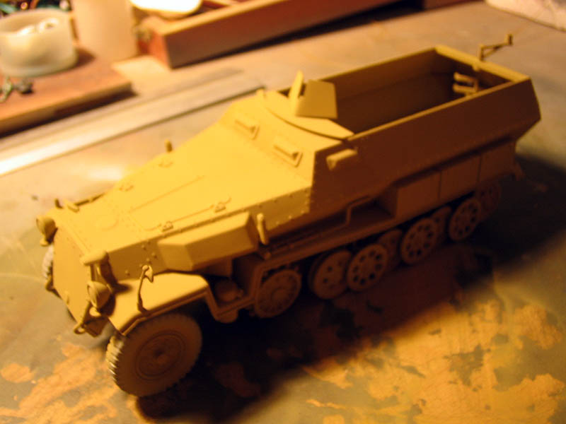 based paint sdkfz 251