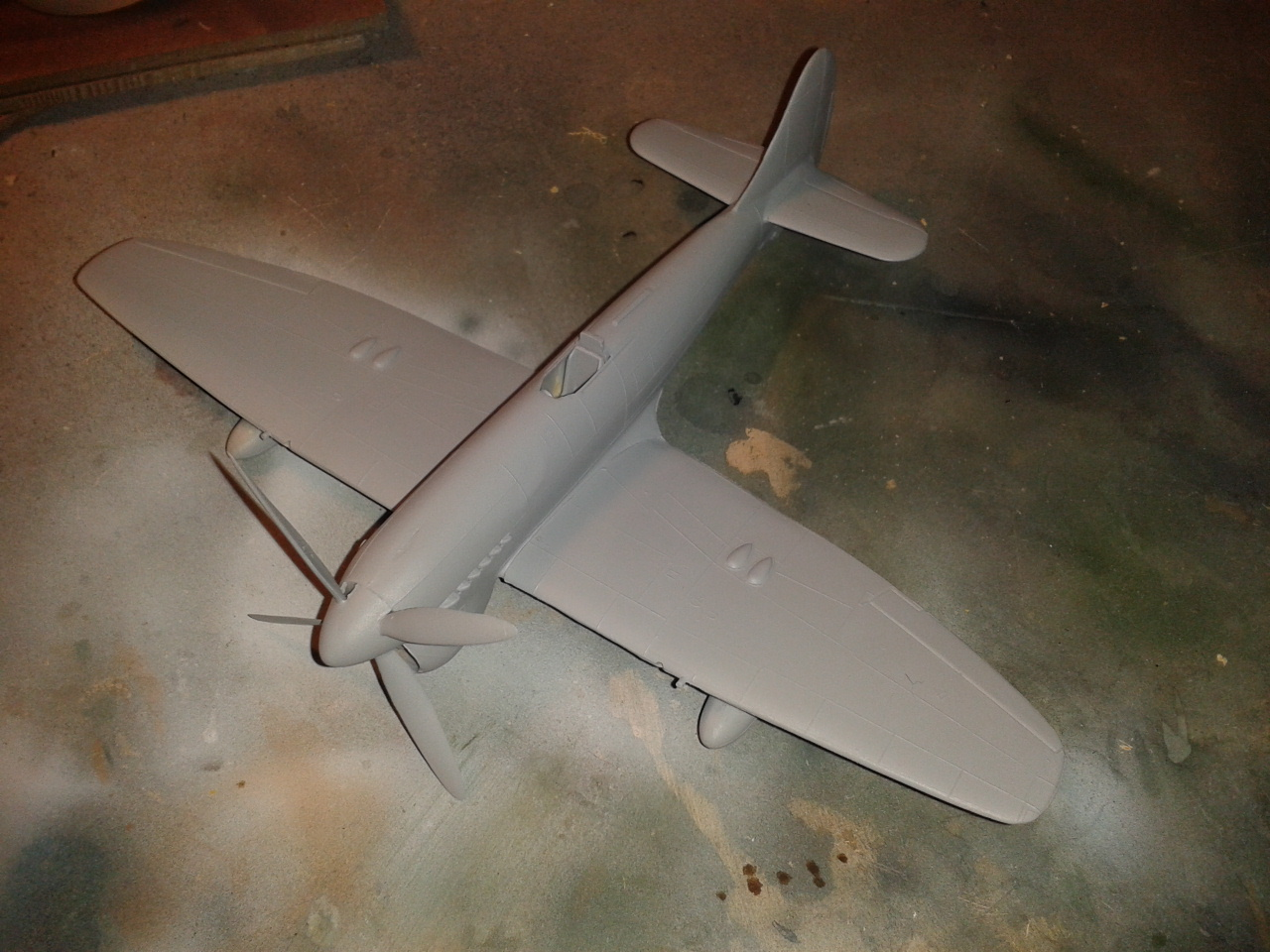 Hawker Tempest MkV imprimación