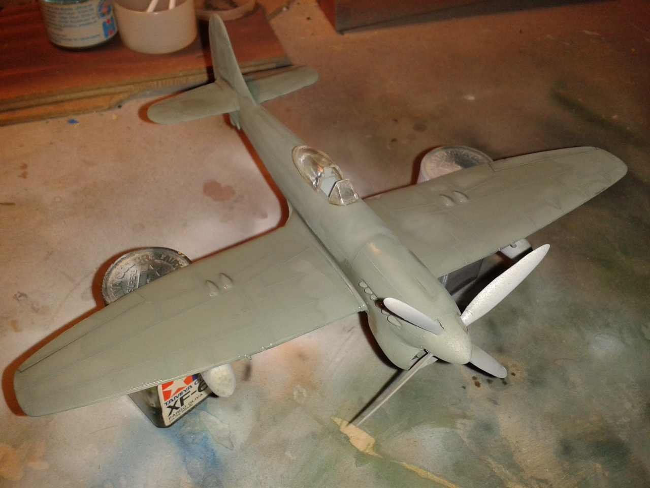 Hawker Tempest MkV with crystals