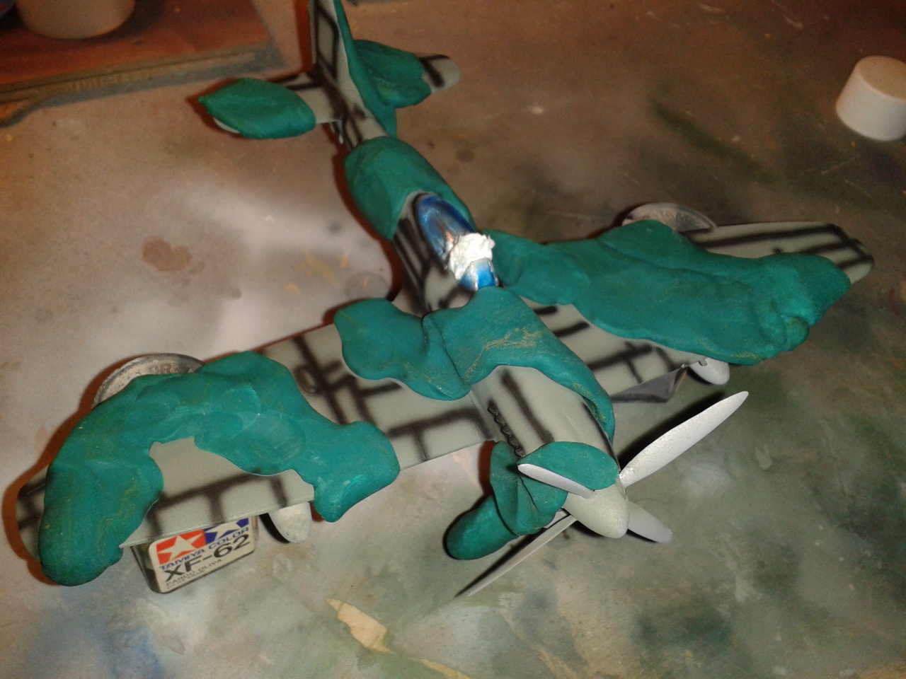Hawker Tempest MkV panelado 2