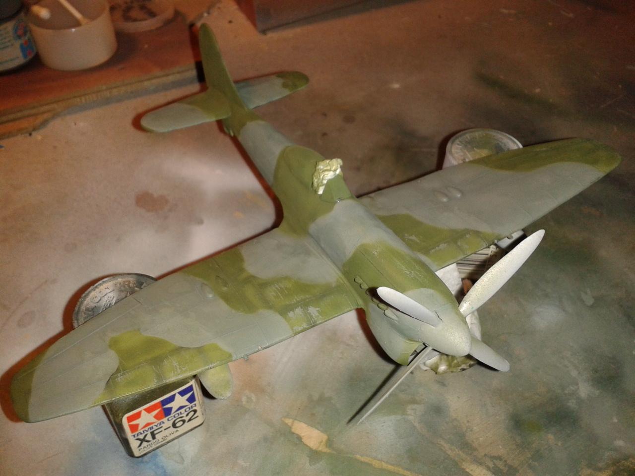 Hawker Tempest MkV descorches y desgastes