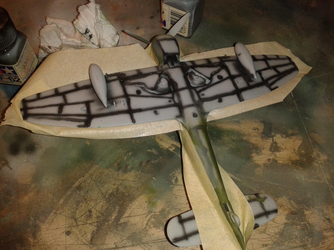 Hawker Tempest MkV enmascarar