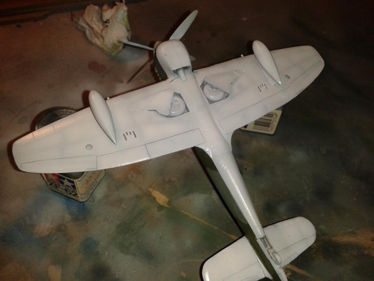 Hawker Tempest MkV pintura