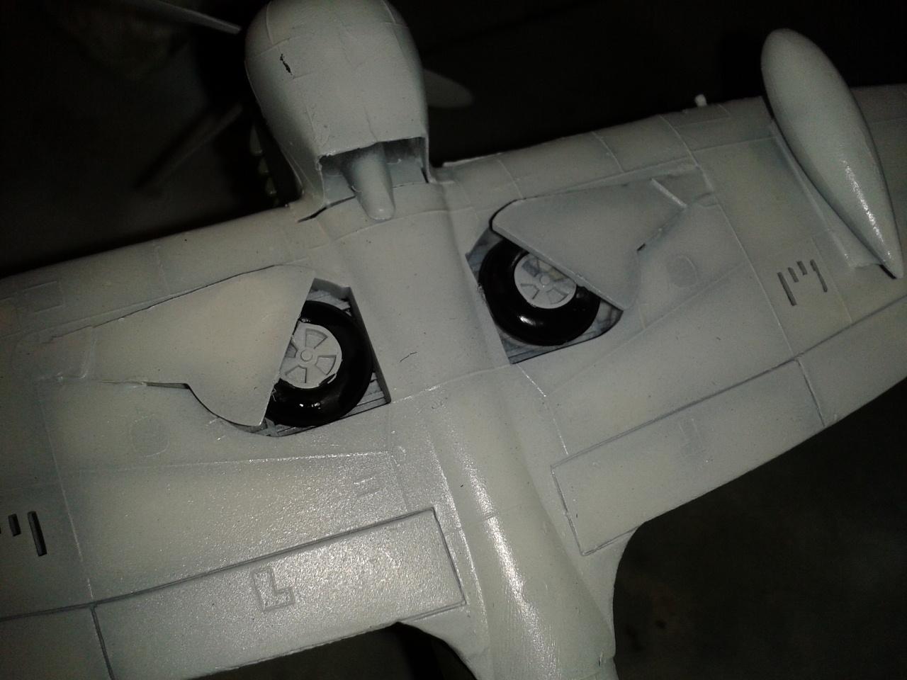 Hawker Tempest MkV pintura de ruedas