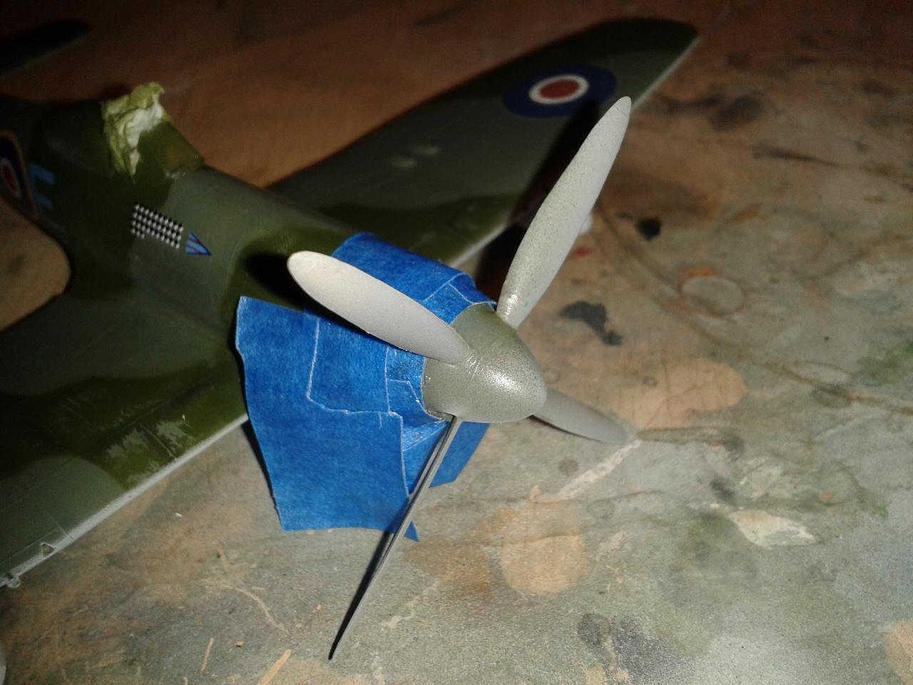 Hawker Tempest MkV hélice