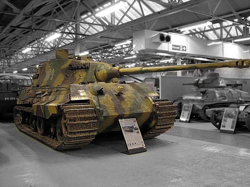 Tiger II en elmuseo de Bovington