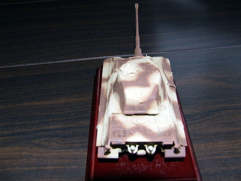 Sd.kfz 182 king tiger pintura