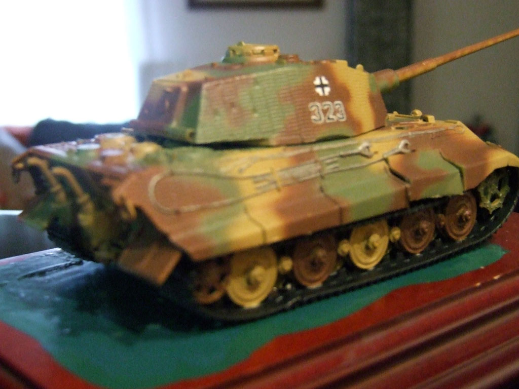 Sd.kfz 182 king tiger calcas