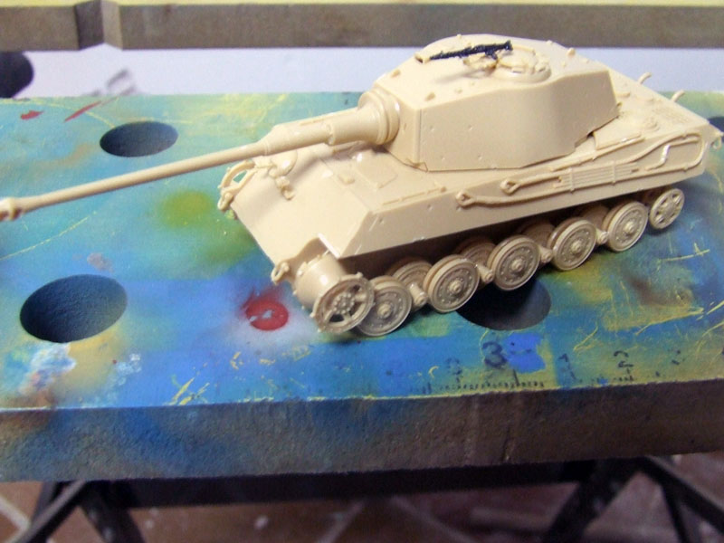 Tiger II Ausf. B Revell assembly