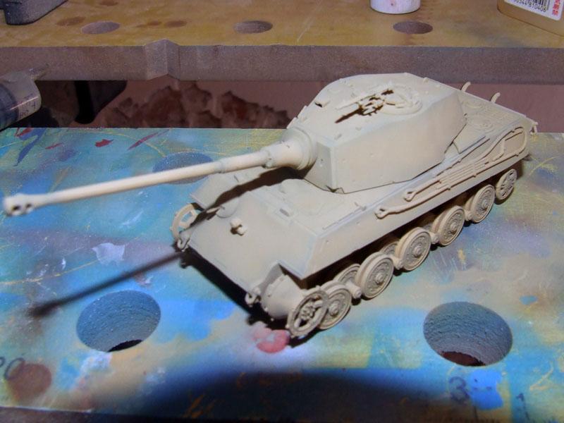 Tiger II Ausf. B Revell pintura