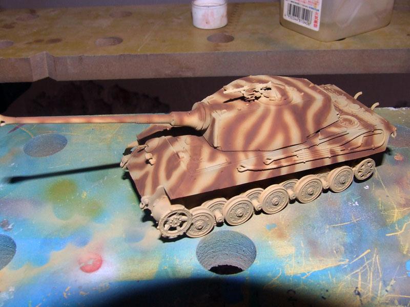 Tiger II Ausf. B Revell pintura camuflaje