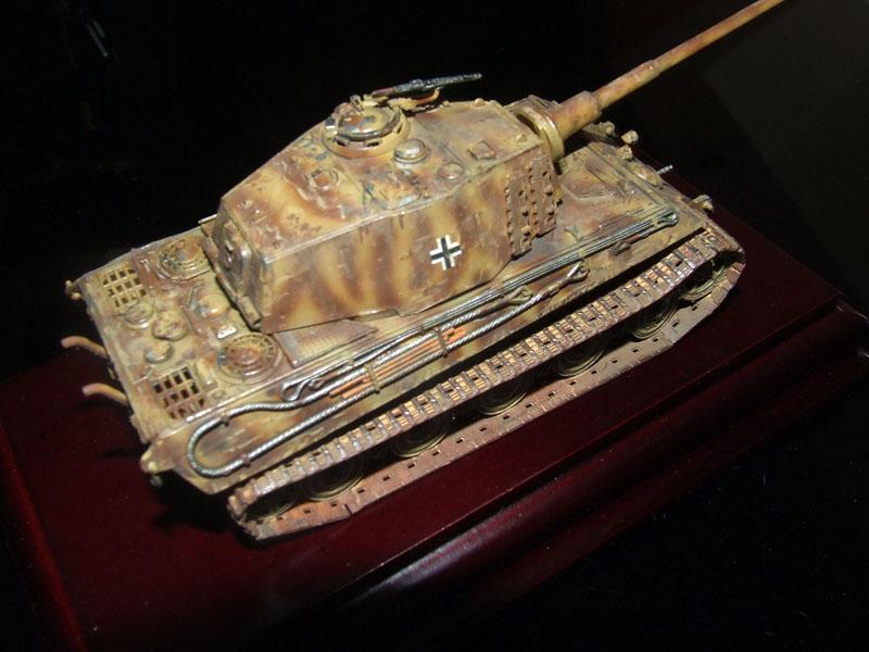 Tiger II Ausf. B Revell lavados