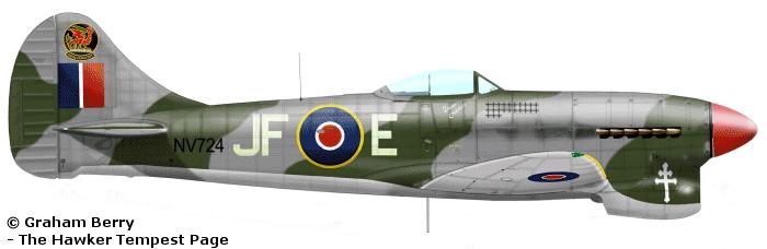 Hawker Tempest MkV Pierre Clostermann
