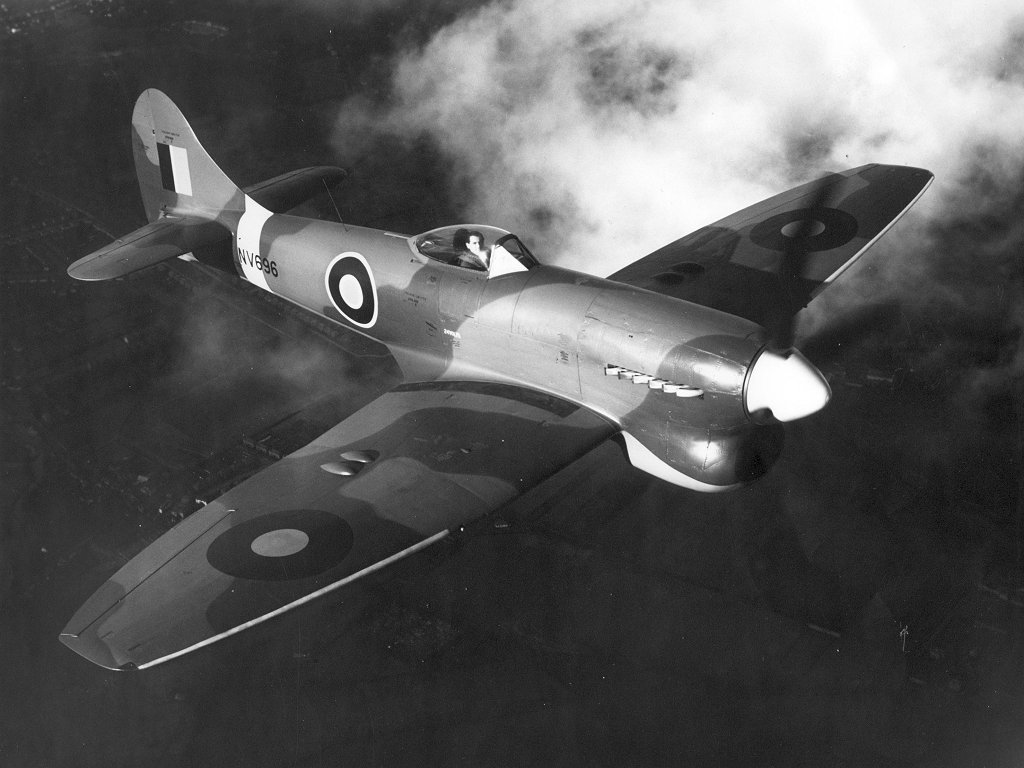 Hawker Tempest MkV prototype
