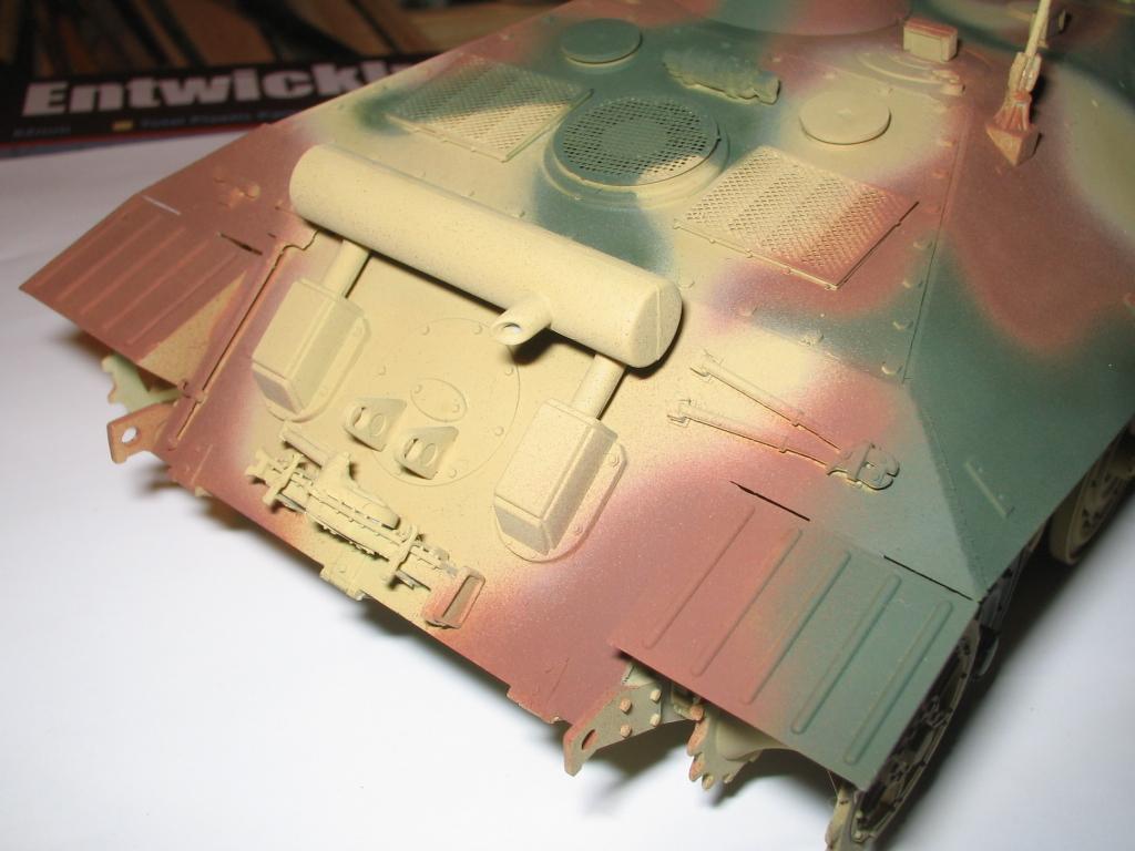 Entwicklungsfahrzeug e25 Esquema de camuflaje