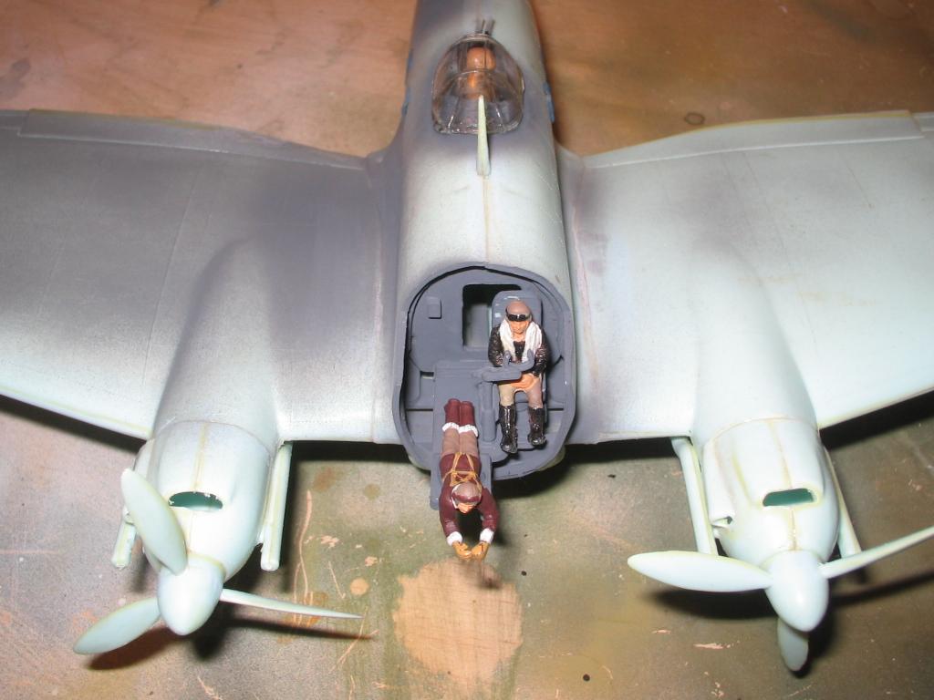 Heinkel He 111 H-20 interior