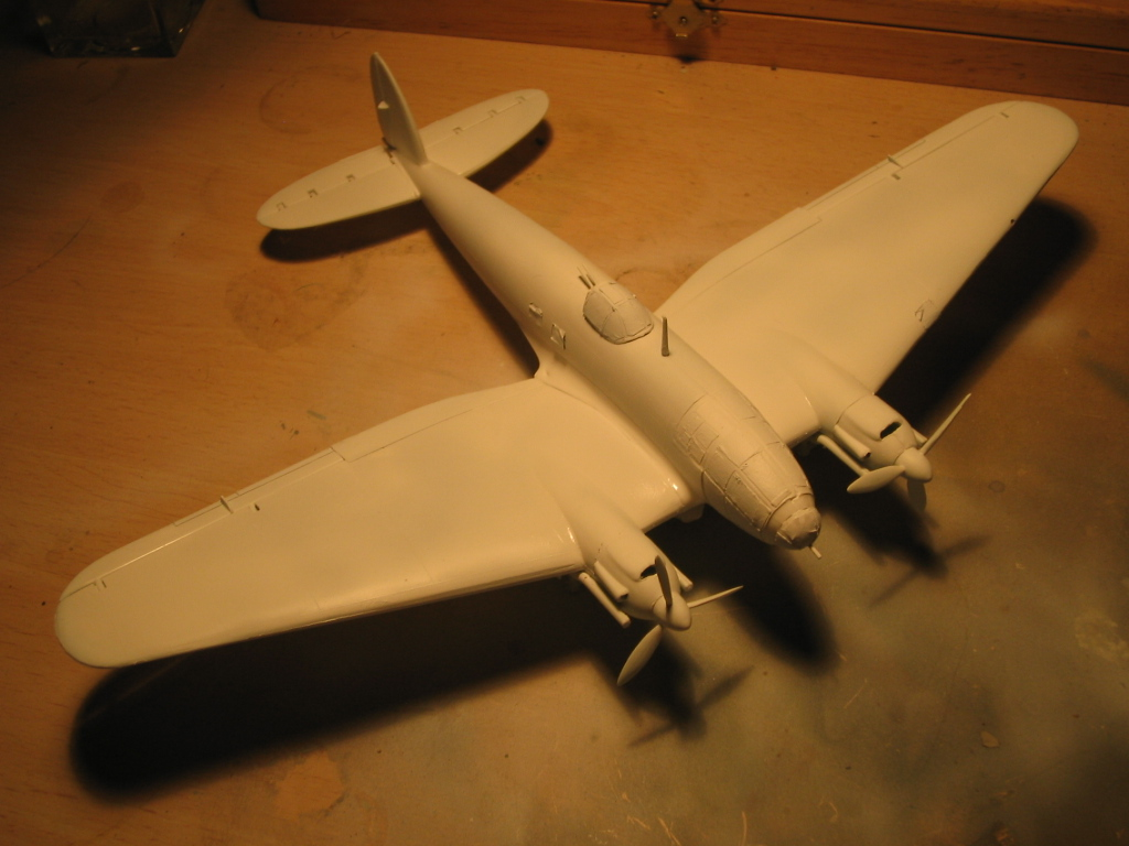 Heinkel He 111 H-20 primer
