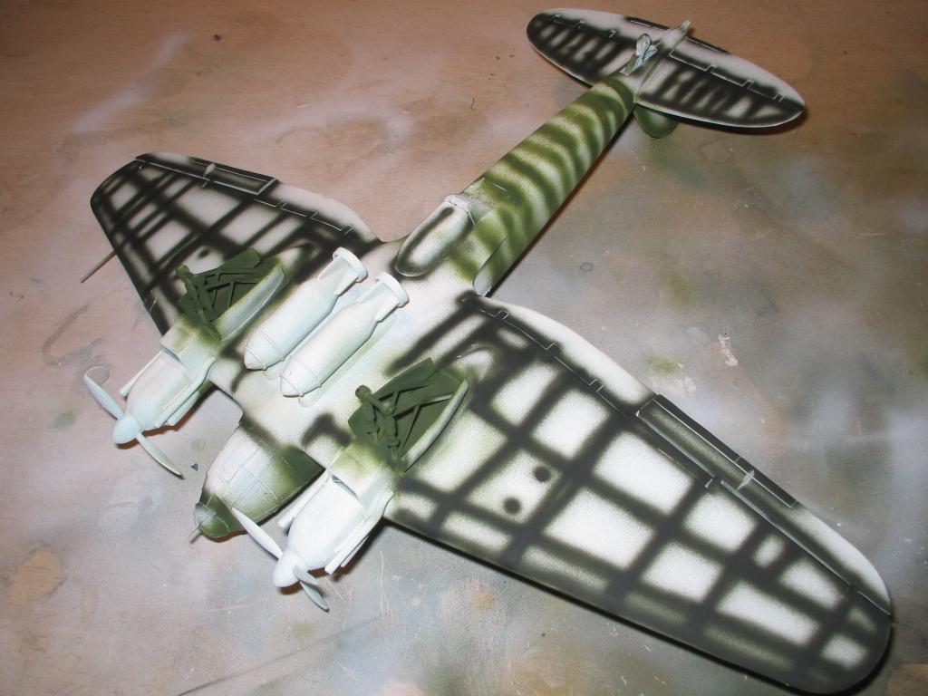 Heinkel He 111 H-20 panelado
