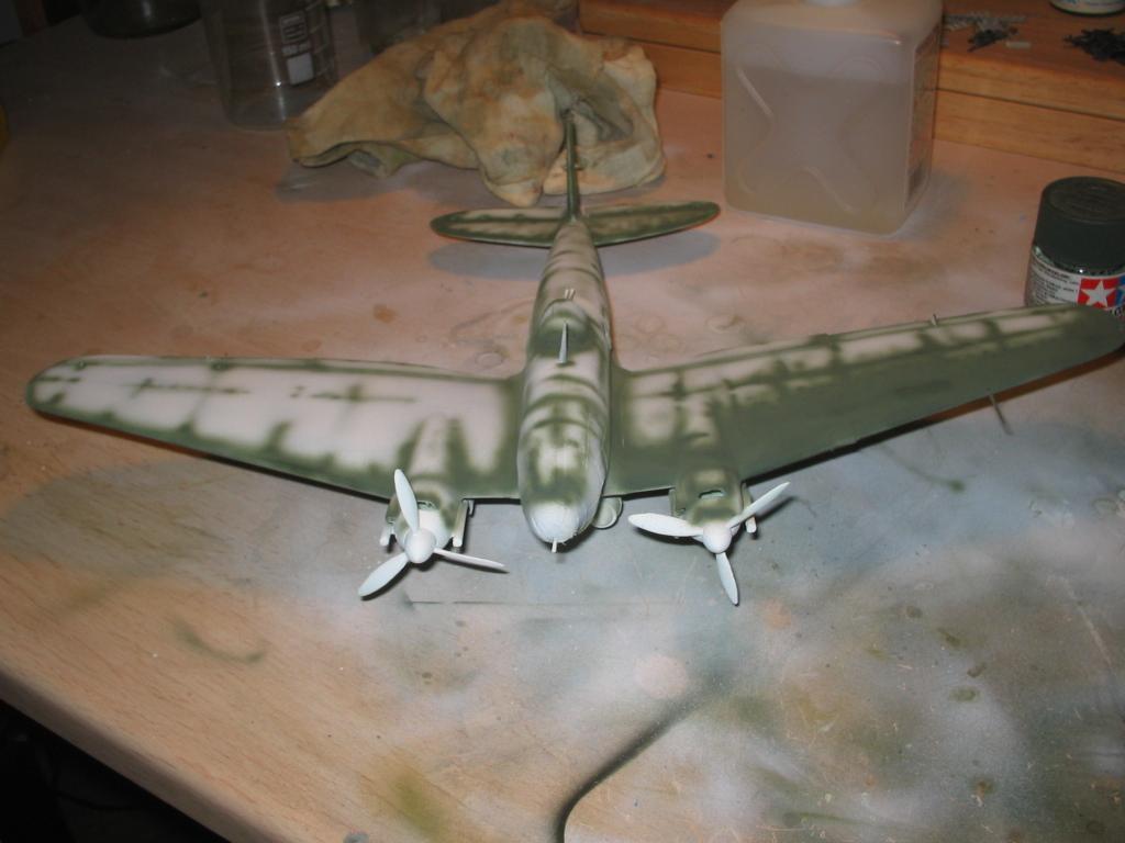 Heinkel He 111 H-20 camouflage