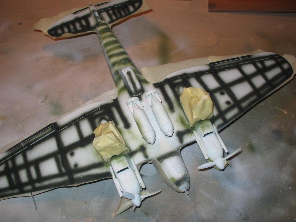 Heinkel He 111 H-20 enmascaramiento