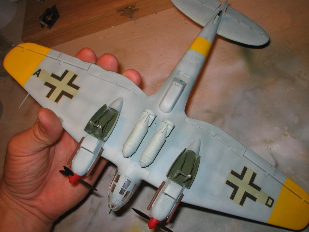Heinkel He 111 H-20 rubbings