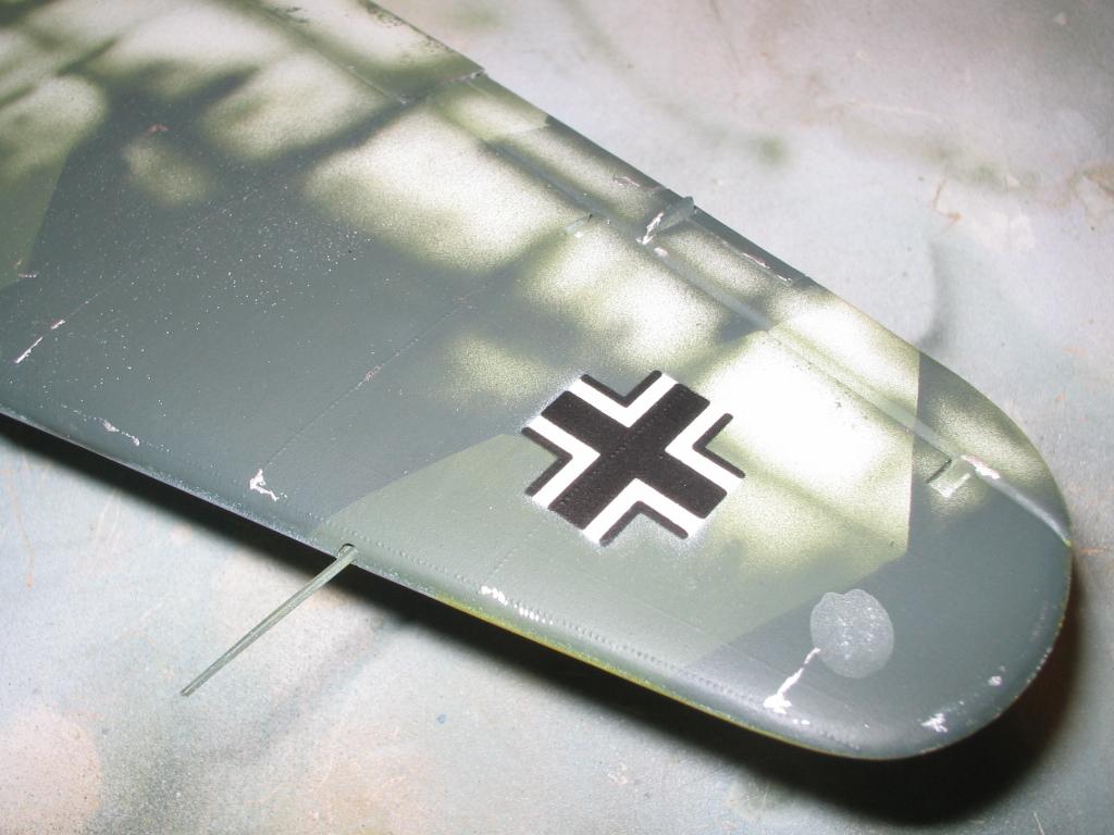 Heinkel He 111 H-20 painting with fotograbados