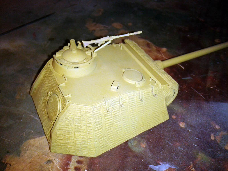 turret painting panther