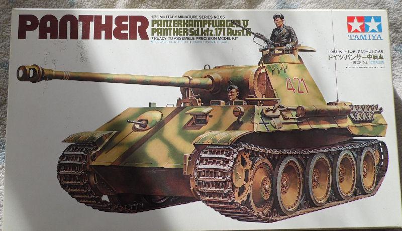Panther SdKfz 171 Ausf. A Tamiya 1:35