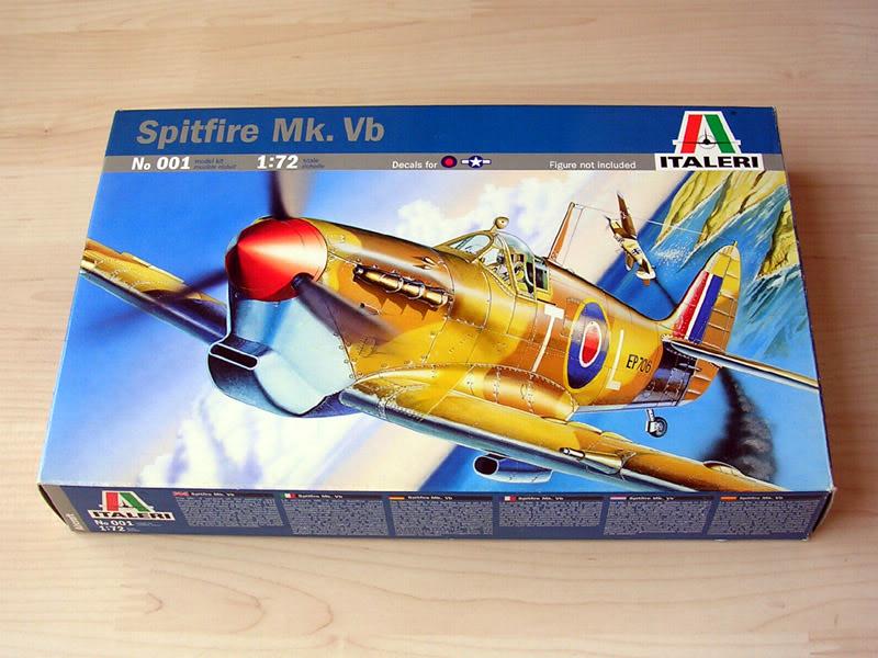 Spitfire Mk Vb Italeri 1:72