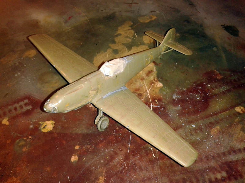 bf 109E restauración