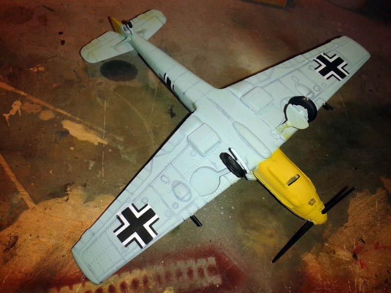 Esquema pintura BF 109E
