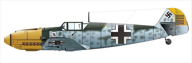 Bf109 Galland Gerippe