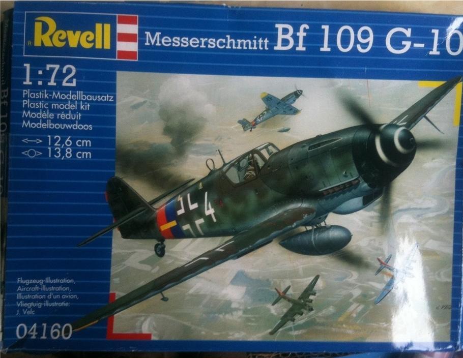 Messerschmitt BF 109 G 10 Revell 1:72