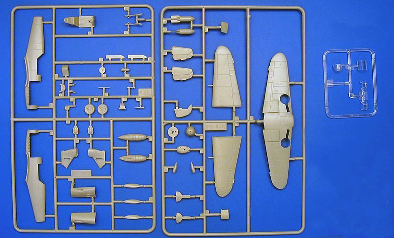 Kit italeri messerschmitt BF 109 F2/4