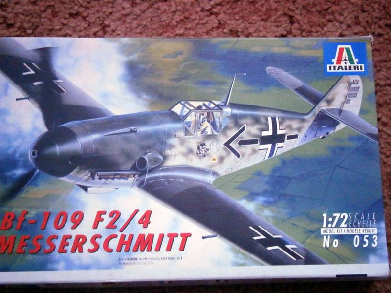 Messerschmitt bf 109 f2/4 italeri 1:72