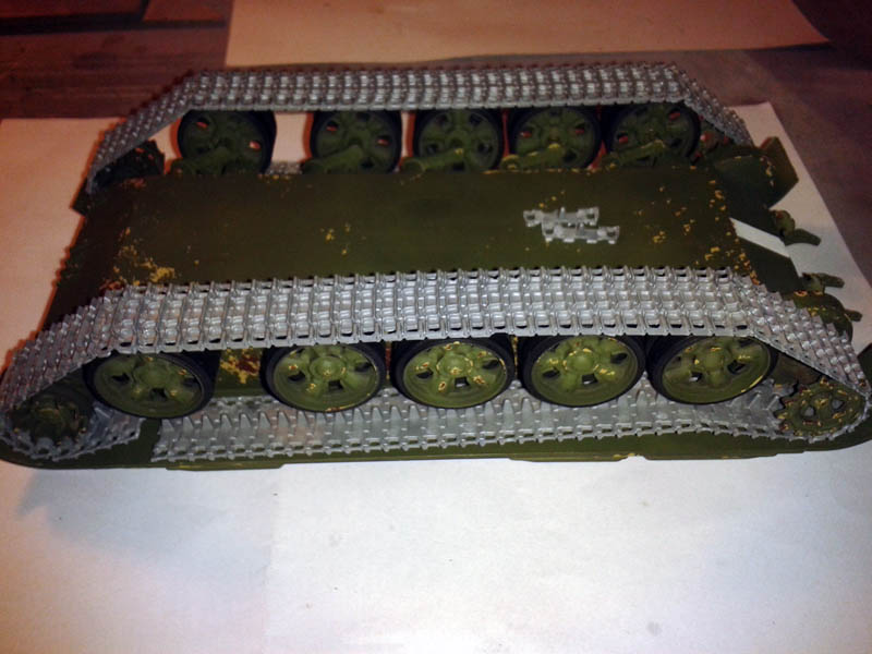 T55 traction chains Italeri