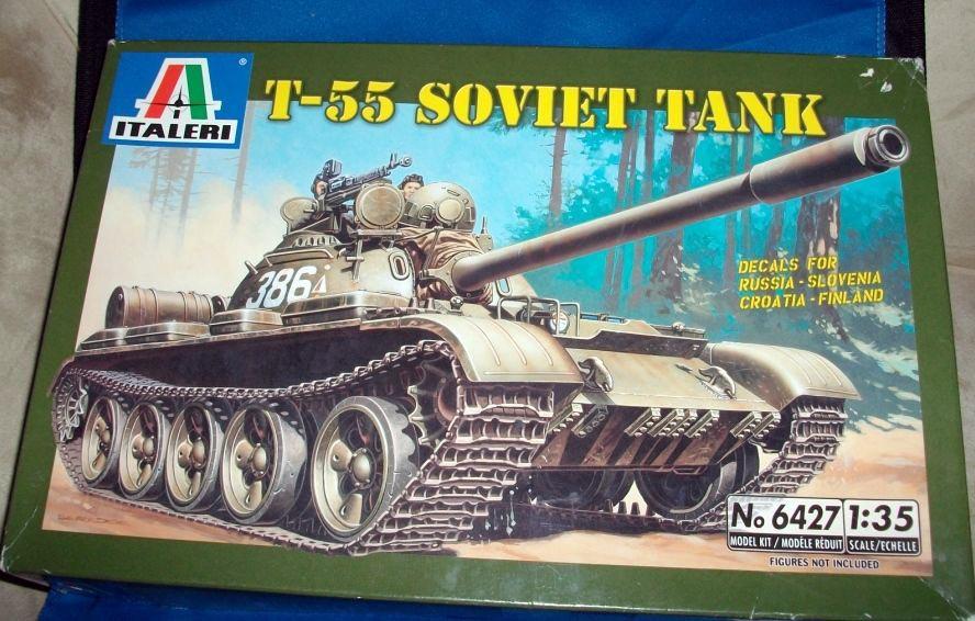 italeri t55