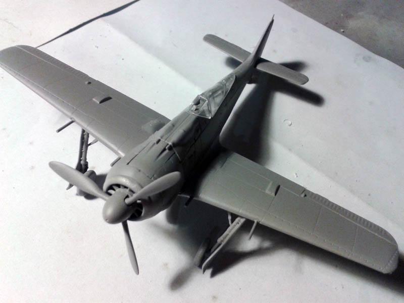 imprimación gris VA focke wulf FW190 A-8